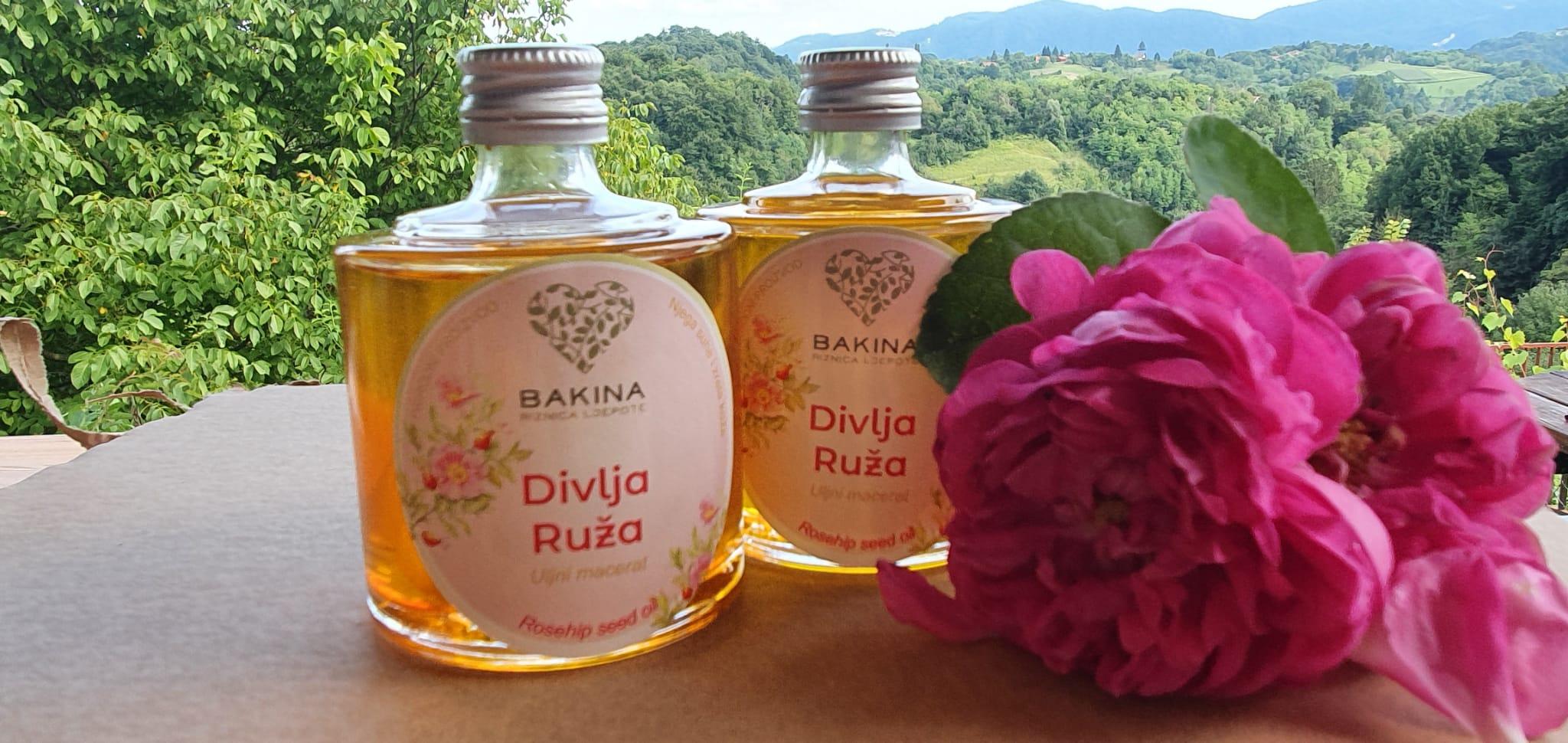 Macerati-ulje ploda divlje ruže