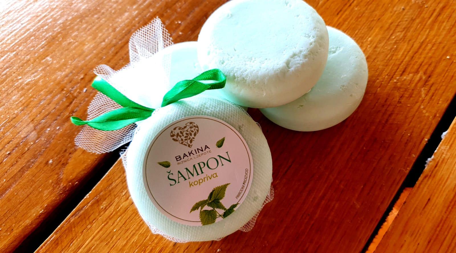 Kruti šampon kopriva-ružmarin